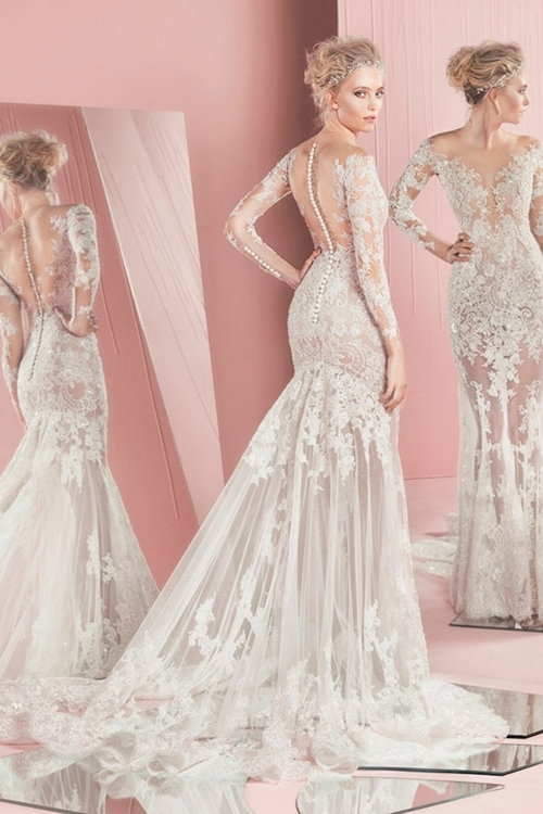 Lóa mắt trước cái đẹp khó cưỡng của những chiếc váy cưới xa hoa - 11