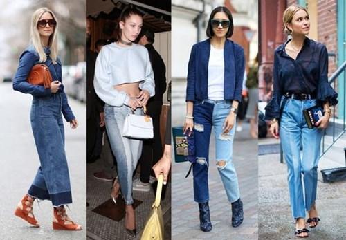 Quần jeans 2 màu xu hướng mới cực chất trong mùa hè - 1