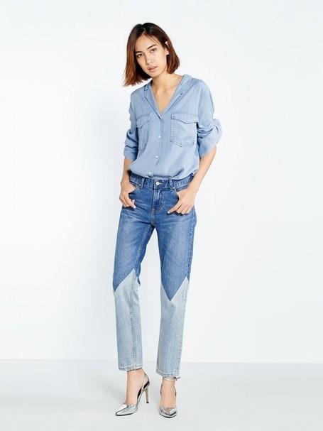 Quần jeans 2 màu xu hướng mới cực chất trong mùa hè - 5