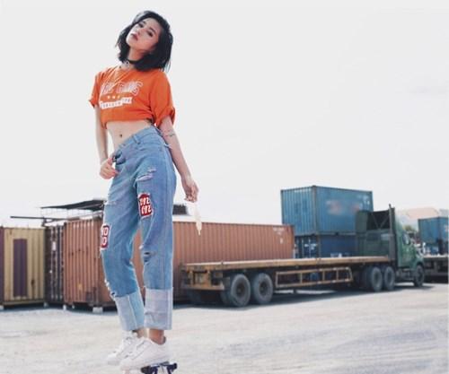 Quần jeans 2 màu xu hướng mới cực chất trong mùa hè - 6