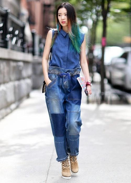 Quần jeans 2 màu xu hướng mới cực chất trong mùa hè - 8