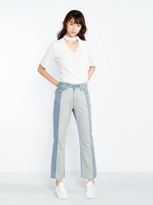 Quần jeans 2 màu xu hướng mới cực chất trong mùa hè - 10