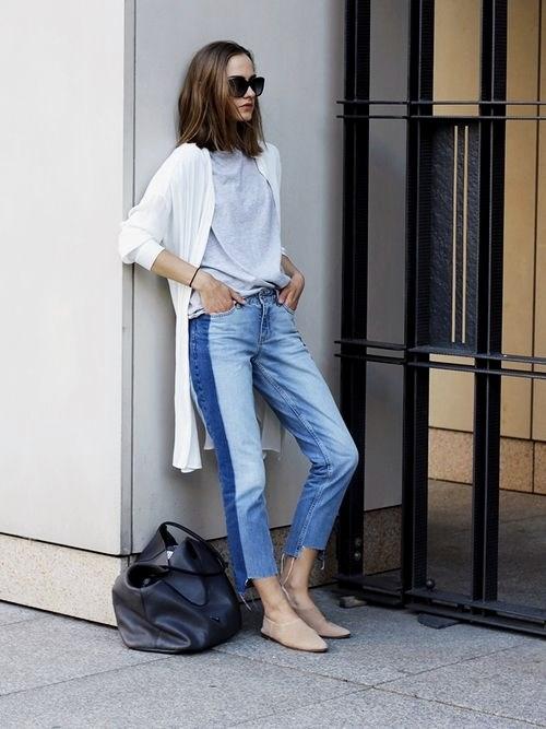 Quần jeans 2 màu xu hướng mới cực chất trong mùa hè - 11