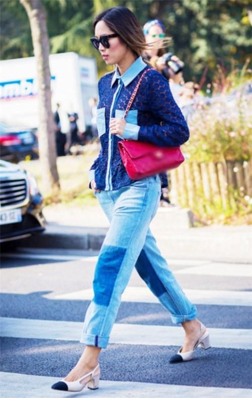 Quần jeans 2 màu xu hướng mới cực chất trong mùa hè - 15