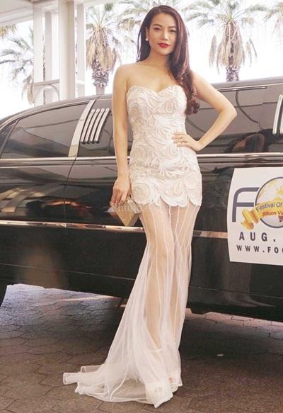 Sao việt quyến rũ với váy áo corset - 9