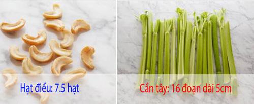20 loại thực phẩm và liều lượng để bạn chỉ nạp 100 calories - 6