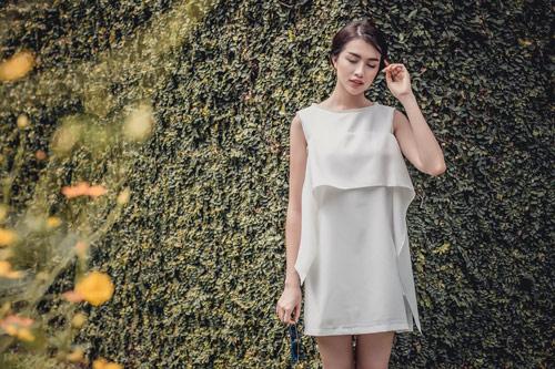 Á hậu lệ hằng gợi ý cách chọn váy suông đẹp và tiện ích - 6