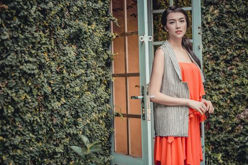 Á hậu lệ hằng gợi ý cách chọn váy suông đẹp và tiện ích - 8