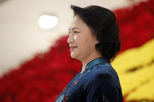 Bí mật sau tà áo dài của chủ tịch qh nguyễn thị kim ngân - 9