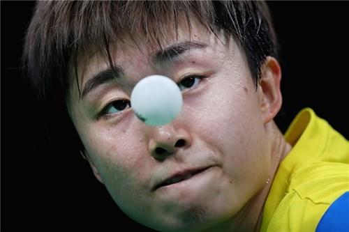 Biểu cảm khó đỡ của các tuyển thủ thi đấu bóng bàn trong olympic rio - 6