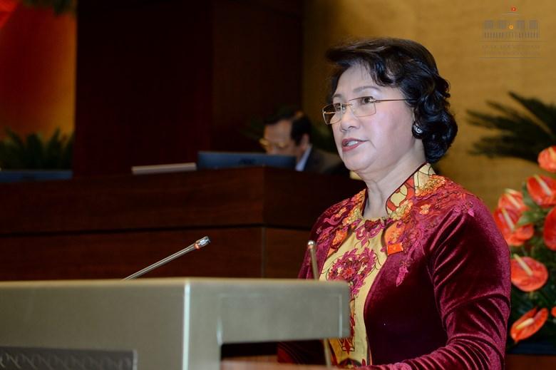 Bst áo dài đẹp mắt của chủ tịch qh nguyễn thị kim ngân - 2