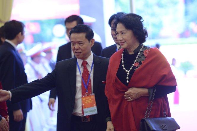 Bst áo dài đẹp mắt của chủ tịch qh nguyễn thị kim ngân - 14