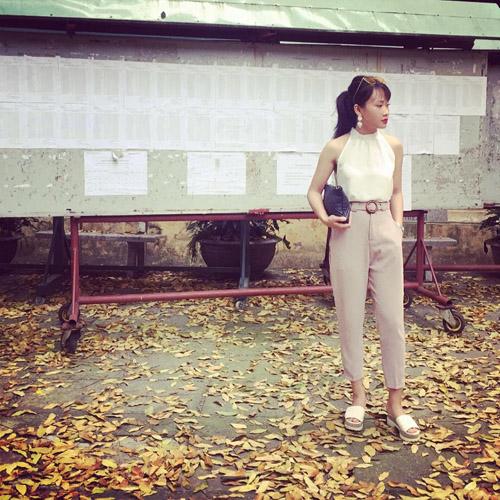Cô gái 9x hà nội mặc đồ bình dân vẫn có vạn người mê - 10