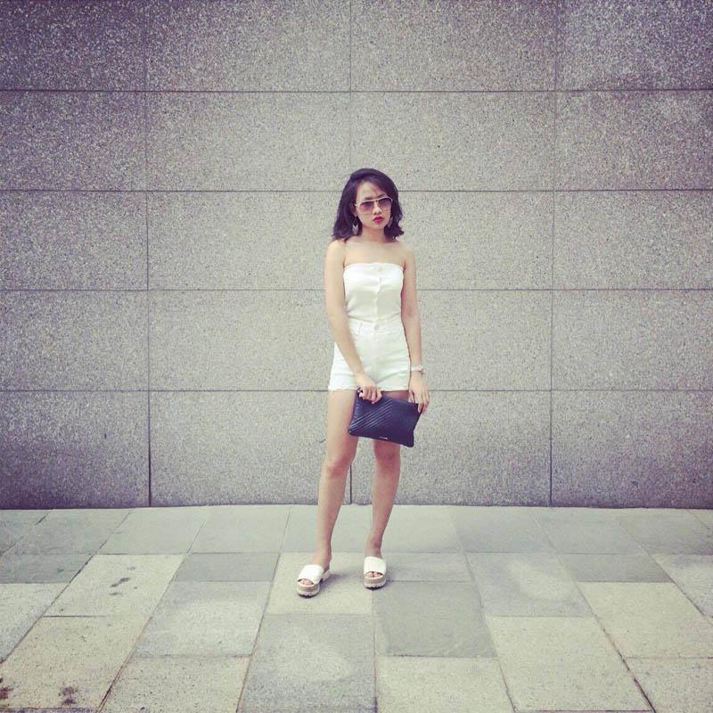 Cô gái 9x hà nội mặc đồ bình dân vẫn có vạn người mê - 17