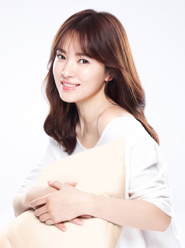 Để tóc mái thưa đẹp như song hye kyo - 1