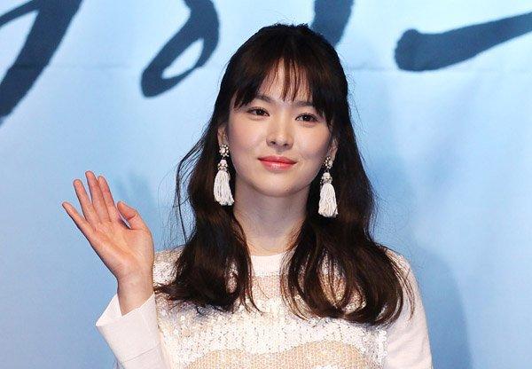 Để tóc mái thưa đẹp như song hye kyo - 4
