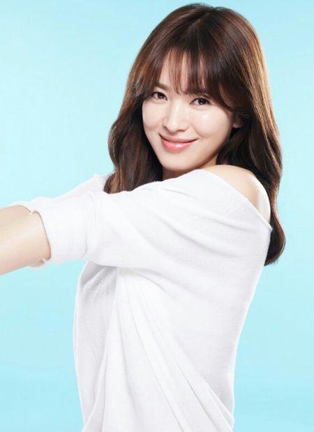 Để tóc mái thưa đẹp như song hye kyo - 5