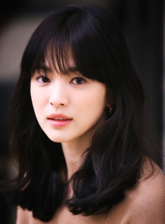 Để tóc mái thưa đẹp như song hye kyo - 7