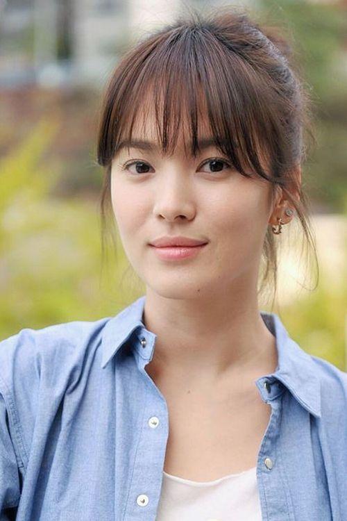Để tóc mái thưa đẹp như song hye kyo - 9