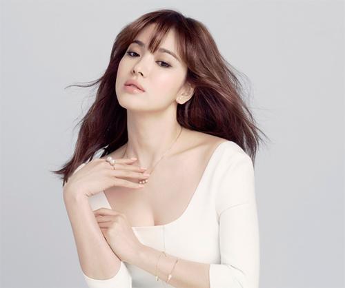 Để tóc mái thưa đẹp như song hye kyo - 12