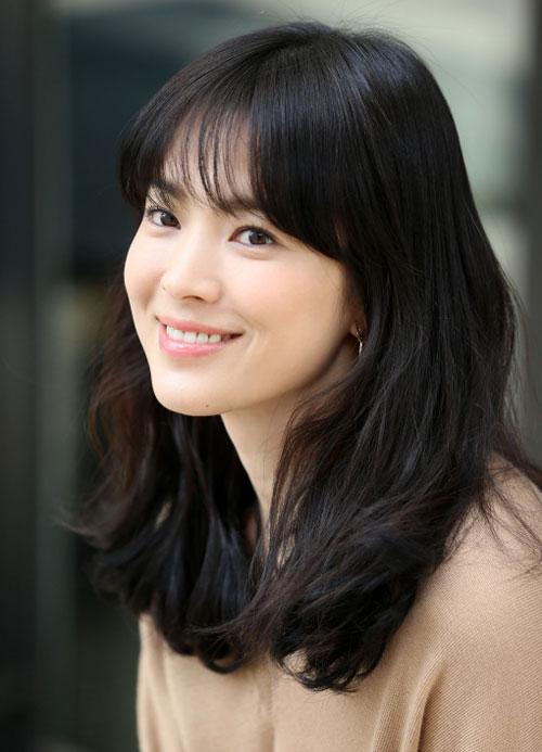 Để tóc mái thưa đẹp như song hye kyo - 13