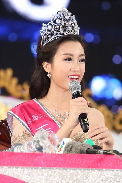 Hoa hậu mỹ linh từ đầu tôi không định tham dự hoa hậu việt nam - 5