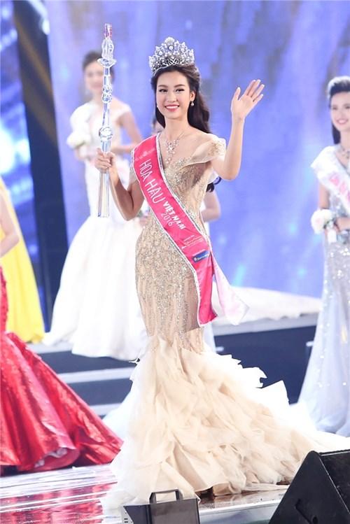 Hoa hậu mỹ linh từ đầu tôi không định tham dự hoa hậu việt nam - 1