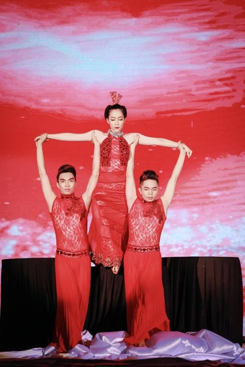 Hoa hậu thu thảo cuốn hút lấn át dàn mỹ nhân tại sự kiện - 11
