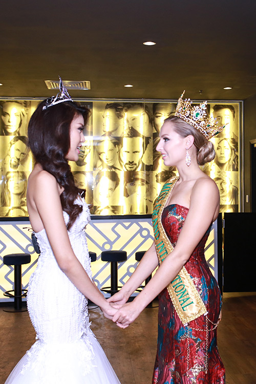 Lan khuê được chủ tịch miss grand international mời thi hoa hậu - 2