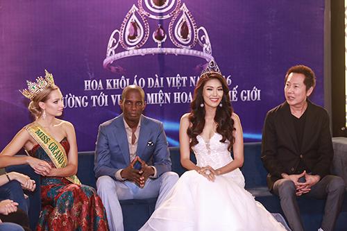 Lan khuê được chủ tịch miss grand international mời thi hoa hậu - 3