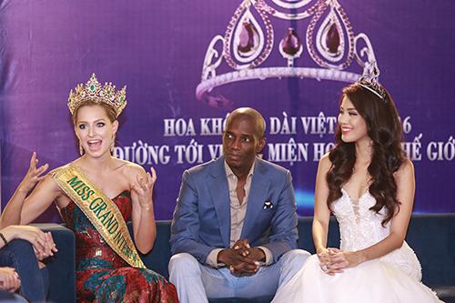 Lan khuê được chủ tịch miss grand international mời thi hoa hậu - 5