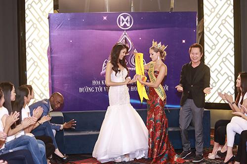 Lan khuê được chủ tịch miss grand international mời thi hoa hậu - 6