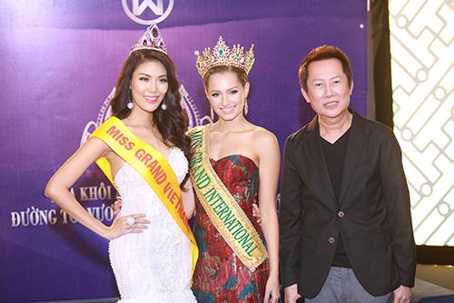 Lan khuê được chủ tịch miss grand international mời thi hoa hậu - 8