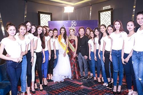 Lan khuê được chủ tịch miss grand international mời thi hoa hậu - 9