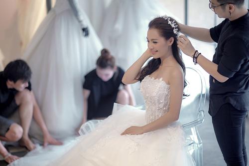 Linh phi thử áo cưới bồng bềnh như mây - 9