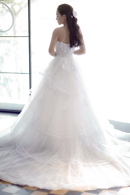 Linh phi thử áo cưới bồng bềnh như mây - 12