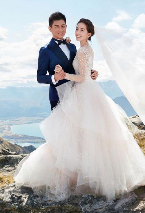Lưu thi thi mặc váy cưới 11 tỷ đồng gây choáng váng - 6
