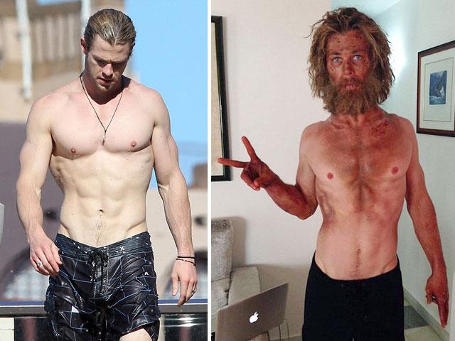 Mỹ nam hollywood gây sốc vì thân hình tiều tụy - 1