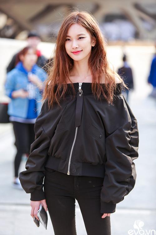 Ngắm street style của những thiên thần nhỏ tại seoul fw - 7