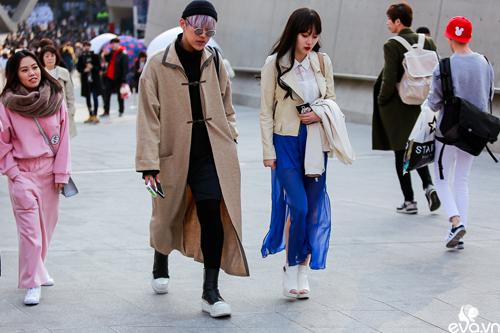 Ngắm street style của những thiên thần nhỏ tại seoul fw - 9