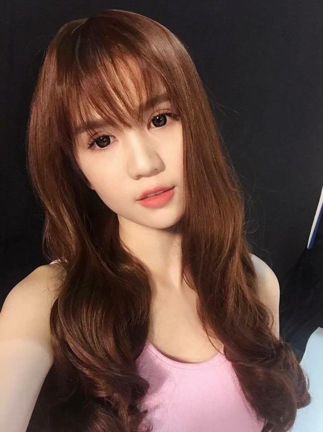 Ngọc trinh xinh lung linh với tóc mái thưa - 2
