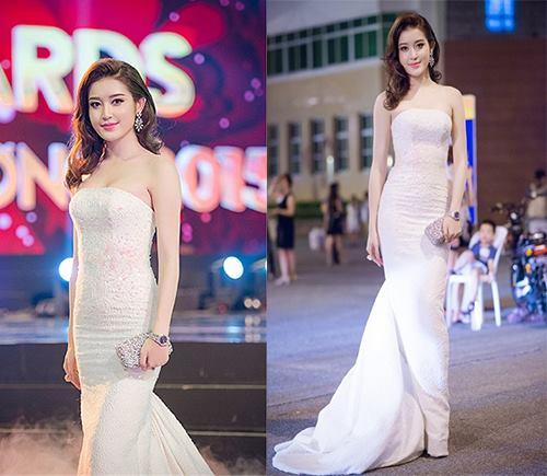 Những chiếc váy trắng làm say đắm lòng người của huyền my - 10