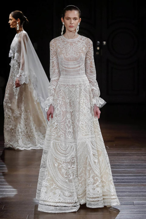 Những mẫu váy cưới đẹp nhất mùa xuân 2017 - 4