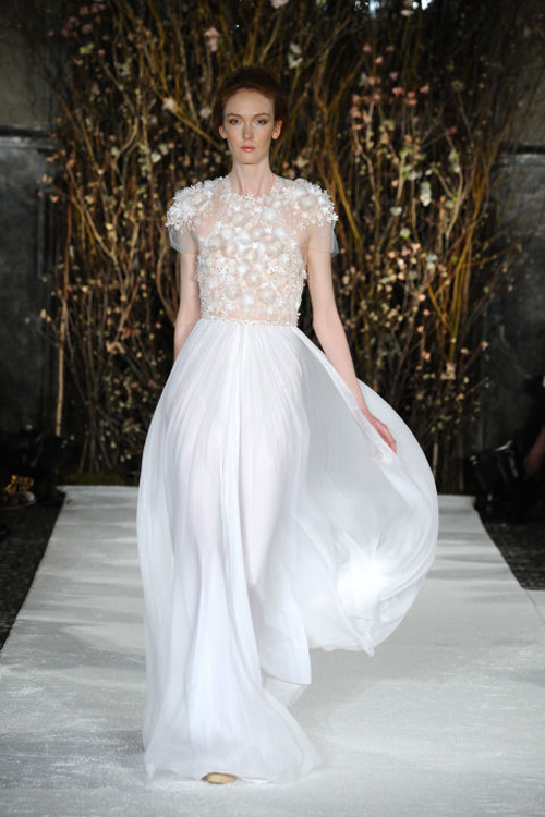 Những mẫu váy cưới đẹp nhất mùa xuân 2017 - 15