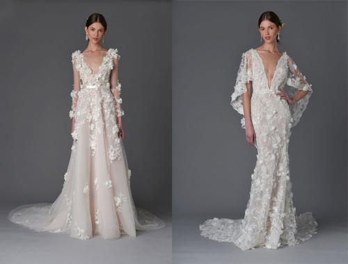 Những mẫu váy cưới đẹp nhất mùa xuân 2017 - 18