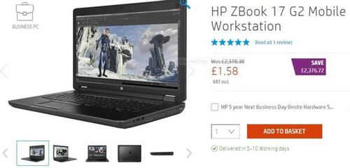 sự cố trên website bán hàng khiến laptop hp giá chỉ còn 2 usd - 1