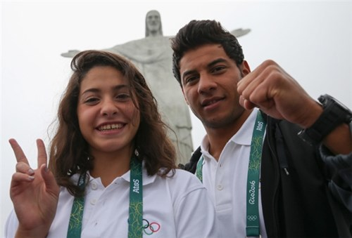 Thế giới sốt với cô gái tị nạn syria lập kì tích tại olympic rio 2016 - 5
