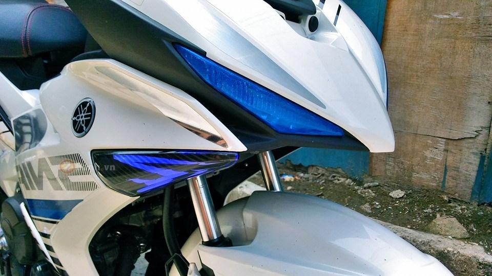 Exciter 150 trắng bạc tinh khôi của biker nước bạn - 1
