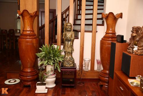 Ngất ngây nhà gỗ đẹp mà sang của bảo trâm idol - 7