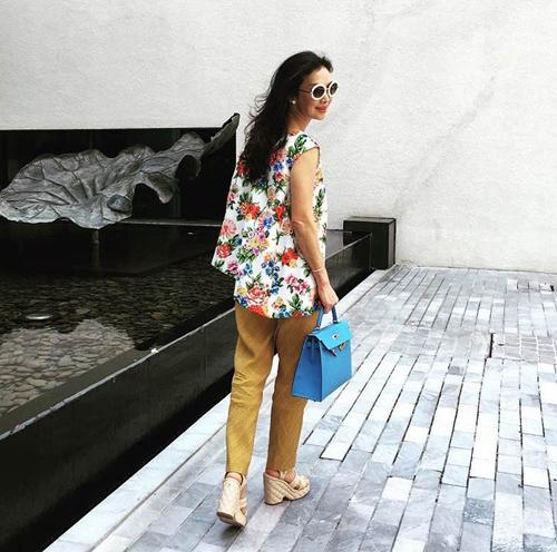 Thời trang xa xỉ của nữ tỷ phú 52 tuổi hot nhất thái lan - 8